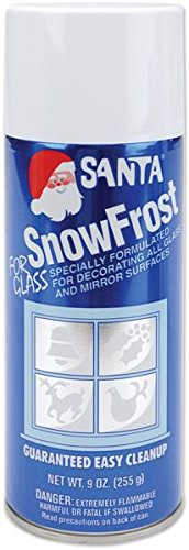Chase 499-0521 Snow Frost Aerosol Spray, 9-Ounce (Santa Snow)