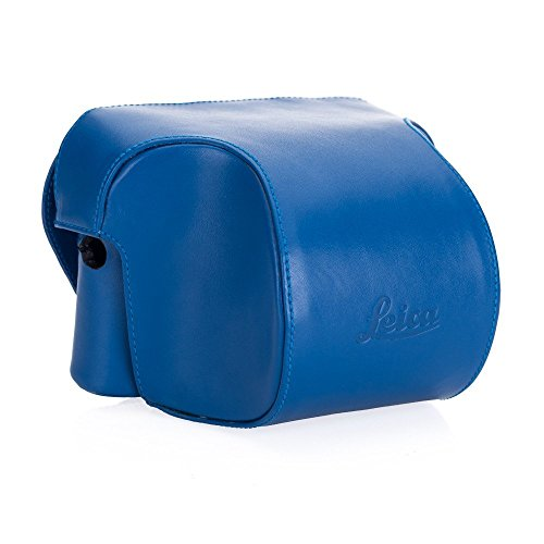 Leica Ever ready case, Box calf leather, blue