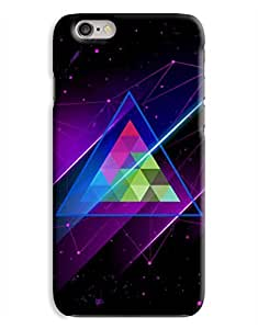 Abstract Colourful Space Triangle iPhone 6 Case