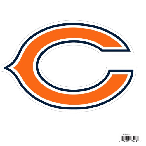 Siskiyou NFL Chicago Bears Automotive Magnet, 8-Inch