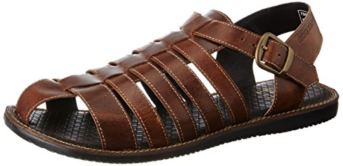 Red Tape Men's Leather Sandals and Floaters