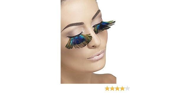 522bdcfda09 Amazon.com: Smiffys Eyelashes, Peacock Feathers: Clothing