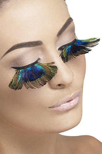 Smiffys Eyelashes, Peacock