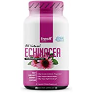 Echinacea - Strongest DNA Verified - Healthy Immune System, Physical & Mental Health, Potent Strength for Winter Conditions - Natural Pain Reliever, Anxiety, Depression, Fight Infections- Vegan Safe