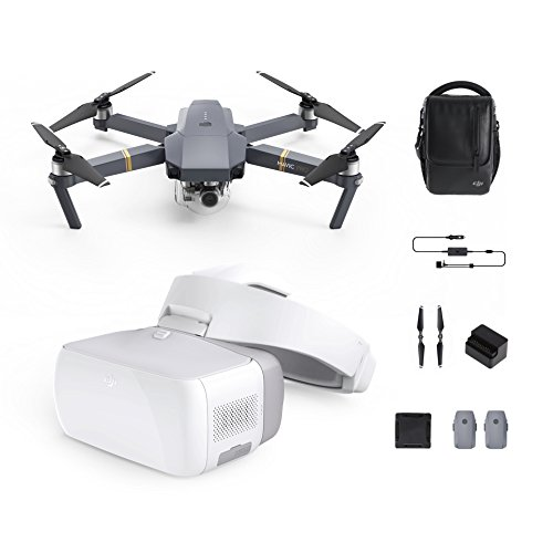 DJI Mavic Pro with Goggles Bundle (Mavic Pro Combo+ Goggles) 1080p HD Immersive FPV Drone Accessory Support Mavic Pro Phantom 4 Series and Inspire Series