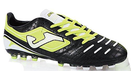 JOMA SPORT - Botas de futbol joma power n201 negro amarillo