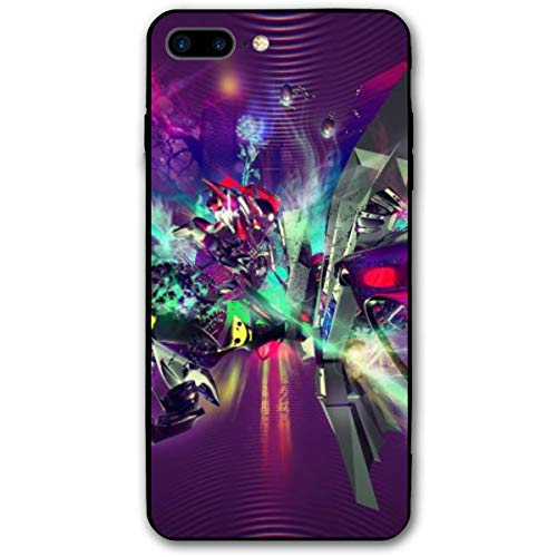 Xianjing iPhone 7 Plus Case/iPhone 8 Plus Case Dance-Music-Wallpaper-4 Anti-Scratch PC Rubber Cover Lightweight Slim Printed Protective Case]()
