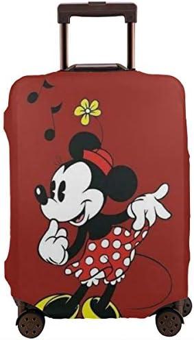 スーツケースカバー ミッキーミニー 防水 傷防止 防塵 出張 旅行 キャリーカバー ラゲッジカバー かわいい トランクカバー おしゃれ S M L XL