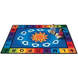 Carpets for Kids Sunny Day Rectangle Carpet - 5'10 x 8'4