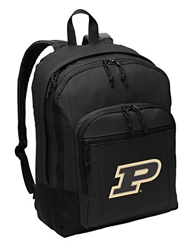 Broad Bay Purdue University Backpack CLASSIC STYLE Purdue Backpack Laptop Sleeve by Broad Bay