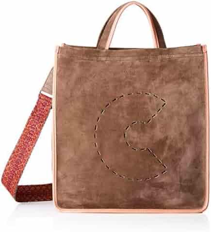 9d5bfbcc53 Coccinelle C Bag Suede E1 Cj1 18 01 01, Women's Shoulder Bag, Multicolour (