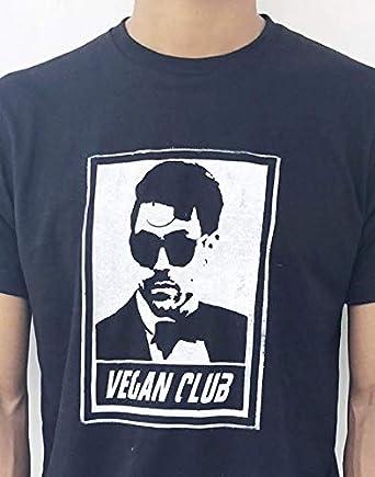 7574d4c02e8f8 Vegan Club Organic Made in USA T-Shirt w Davey Havok (Extra Extra Large