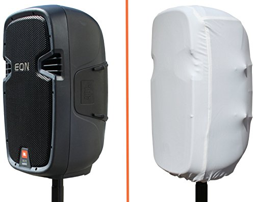 """JBL Bags EON15-STRETCH-COVER-WH Stretchy White Cover for EON 15"""" Cabinets -  EON15-STRETCH-COVER-WHITE"""