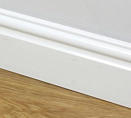Amazon 95mm Plastic Skirting Board Ogee Torus Architrave