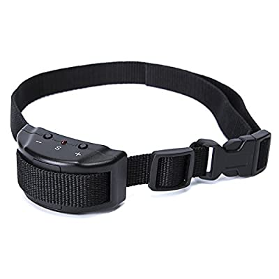 Aolun No Bark Shock Dog Collar with 7 Sensitivity Levels?No Harm, No Pain Vibration, Adjustable Buckles for Small, Medium & Large Dogs?Prevent Barking, Ensure Good Behavior & Facilitate Training