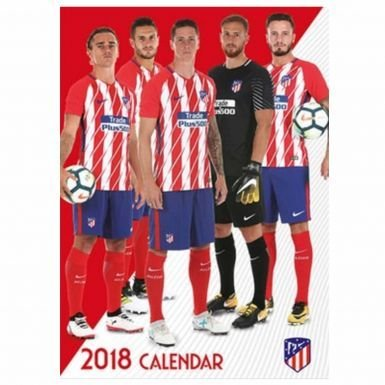 fan products of Official Atletico Madrid 2018 Soccer Calendar
