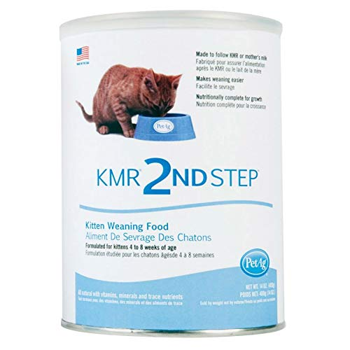 PetAg KMR 2nd Step Weaning Formula for Kittens 14 oz (12 Pack)
