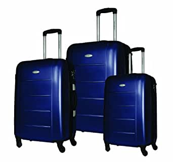 Samsonite Luggage Winfield 3 Piece Set, Blueberry, One Size