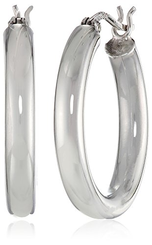 Round Polished Hoop - 5