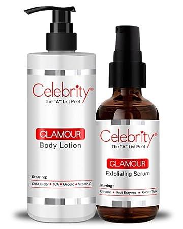 Amazon.com: Celebrity Glamour Loción Corporal & Suero: Beauty