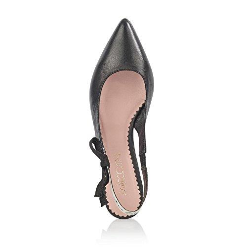 Marc Cain Damen Jb Sf.10 L30 Slingback Ballerinas Mehrfarbig (noir)