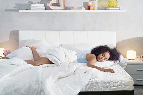 Luxury Plush King Memory Foam Mattress, CopperRest Sleep 13