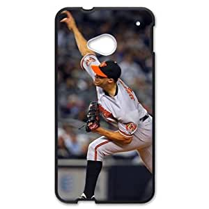 MLB&HTC One M7 Black Baltimore Orioles Gift Holiday Christmas Gifts cell phone cases clear phone cases protectivefashion cell phone cases HLNB605586883