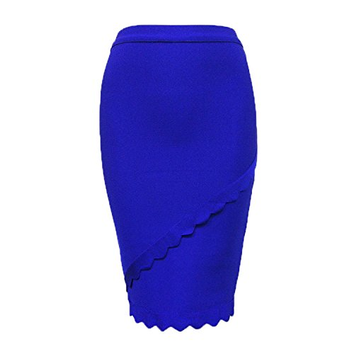 CIEMIILI - Falda - para mujer Azul
