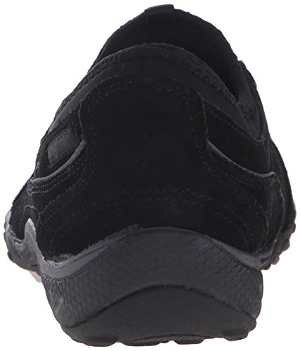 Sport Black Moneybags Skechers Easy Relaxation Suede Sneaker Breathe Women's BxUCwZaCq