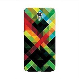 Cover It Up - Pixel Green Zuk Z1Hard Case