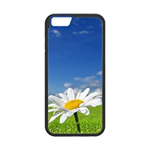 Daisy Flower iPhone 6 4.7 Inch Cell Phone Case Black LMS3925569