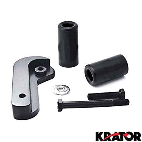 Amazon.com: Krator MT219-024 Black Slider (2006-2008 Suzuki GSXR 600 ...