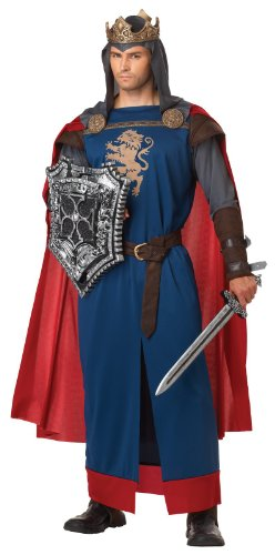 [California Costumes Men's Richard The Lionheart Adult, Blue/Red, X-Large] (Medieval Mens Costumes)