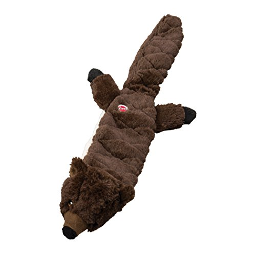 Ethical Pets Beaver Skinneeez Extreme Stuffingless Quilted Dog Toy, -