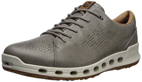 ECCO Men's Cool 2.0 Leather Gore-TEX Sneaker, Warm Grey Retro, 46 M EU (12-12.5 US)