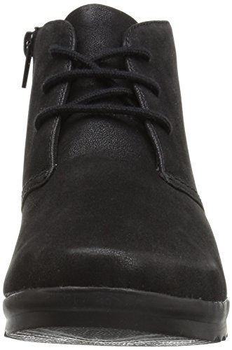 Clarks Womens Caddell Hop Botte Noire