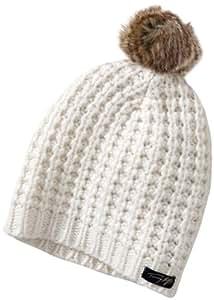 Tommy Hilfiger de esquí para nieve tiene E480416114 mujer Accesorios/gorro, talla única de marfil (valla white)
