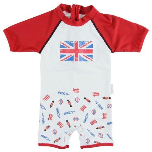 Boys' Sun Protective UV Protection Swimsuit - I Love London (20's Costumes London)
