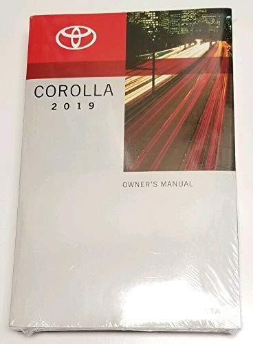 2019 Toyota Corolla Owners Manual