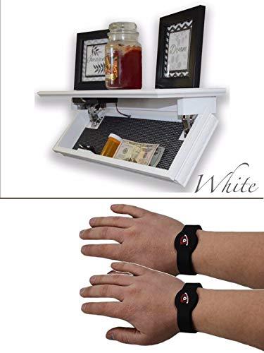Cutting Edge Quick with RFID White Shelf Safe (QS24W)