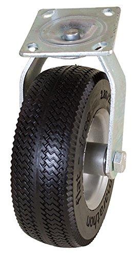 Marathon 8'' Swivel Caster with Flat Free Tire