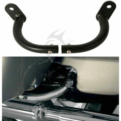 TCMT Black Saddlebag Guard Eliminator Brackets For Harley Electra Glide FLHT (Saddlebag Guard Bag)