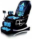Forever Rest Premium Massage Chair w/body scan, BUILT IN HEAT(TOP OF THE LINE) 10yr. Warranty (Black)