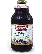 Lakewood Organic Pure Juice, 946 ml, Concord Grape