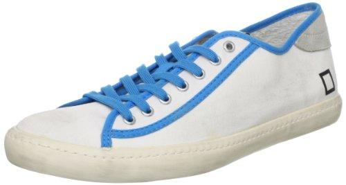 0806O sneakers donna D.A.T.E. TENDER bianco/fuxia shoes woman bianco/azzurro
