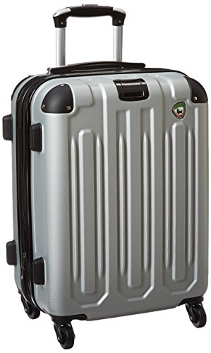 - Mia Toro Regale Composite Hardside Spinner Carry-On, Grey, One Size
