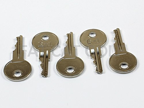 EZGO KEY FOR ALL STOCK EZGO GOLF CARTS (SET OF 5)