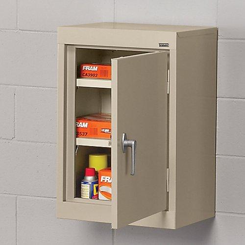 (SANDUSKY LEE WA11181226-02 Wall-Hung Cabinet with Steel Doors, 18