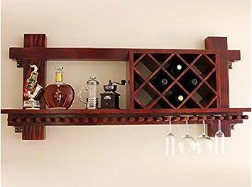 bar de vinos estante del vino rack / madera / estante del ...