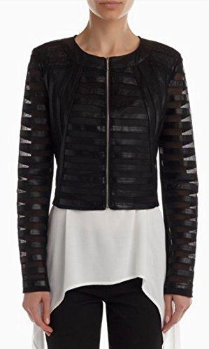 Amazon Abbigliamento Rinascimento Tulle Giacca it Ecopelle E Retato wpZvXw